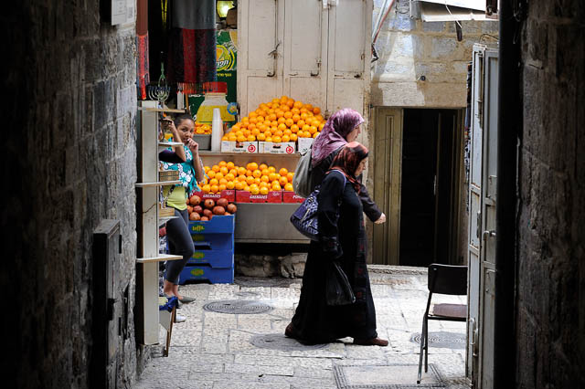 Suq in Jerusalem