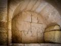 Arcosolium burial niche