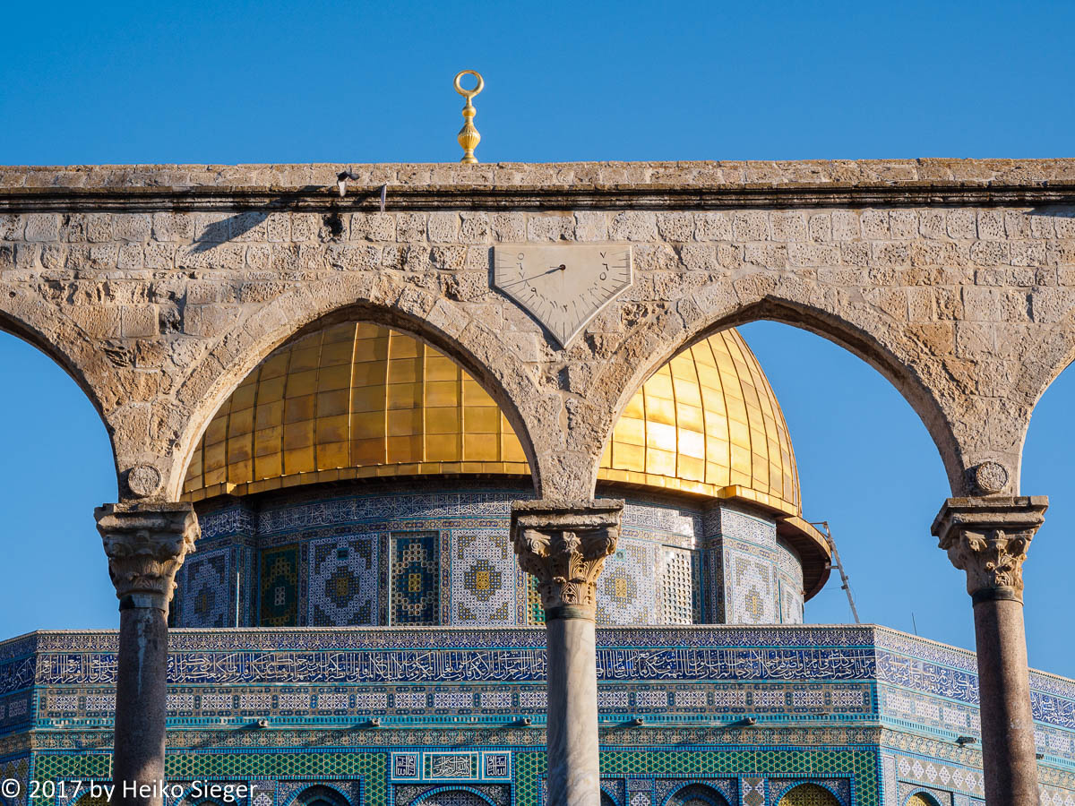 Un Dial and Dome of the Rock