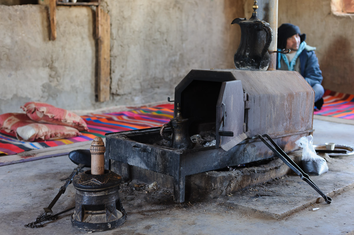 Jahalin Bedouin village in Judean desert
