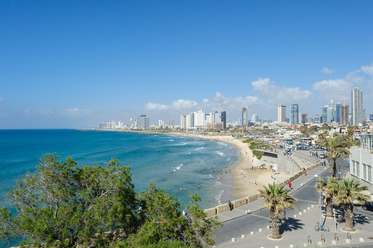 Tel Aviv - view from Jaffo