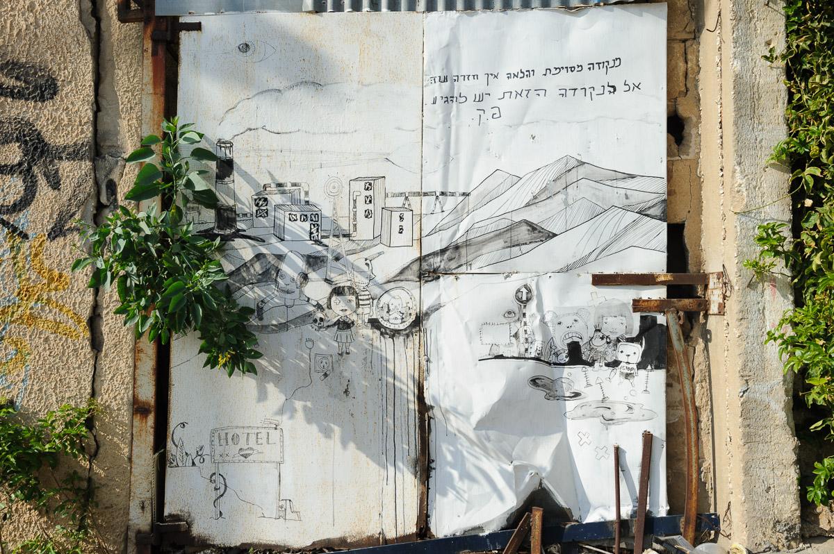 Tel Aviv graffity